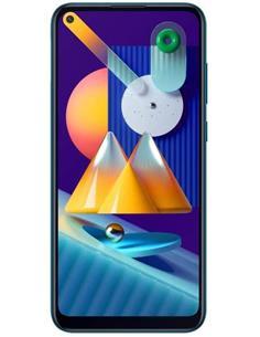 "SAMSUNG Telefono Movil GALAXY M11 SM-M115F/DSN Azul Dual Sim, 6.4"", 32Gb, 3Gb Ram,13+2+5Mp"