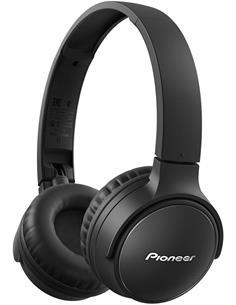 PIONEER Auricular de Casco  Bluetooth SE-S3BT-B Manos Libres,25H  Negro