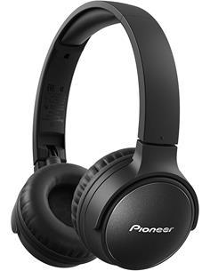PIONEER Auricular de Casco  Bluetooth SE-S6BN-B Manos Libres,Cancelacion de Ruido 30 Horas Negro