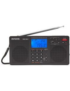 AIWA Radio Digital Multibanda Estereo SM/MW/LW RMD-99ST Lector SD,Temporizador C Pilas Y Alimentador