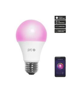 SPC Bombilla Inteligente Wifi SIRIUS 1050 Led Color y Blanca E27 1050 Lumenes 10W-75W