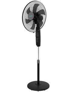 CECOTEC Ventilador Pie 6 Aspas,70W, 3 Velocidades Energy Silence 610 MaxFlow Control Negro