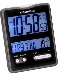 GRUNDIG Estacion Meteorologica Temperatura Interior,º Con Reloj Despertador Con Calendario 07726