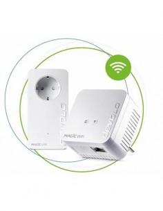 DEVOLO Kit de 2 PLC MAGIC 1 Wifi Mini Starter Kit 08576 Con Enchufe Integrado 1200Mbps