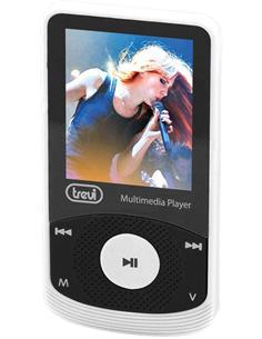 TREVI Reproductor Mp4 MPV1725 Blanco Radio Fm, Micro Sd, Foto Video, Con Auriculares