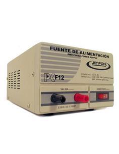 JETFON Fuente Alimentacion DC Conmutada PC-F12 Entrada 220V- Salida 13.8V