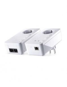 DEVOLO Kit 2 PLC  dLan 500+Wifi Starter Kit Con Enchufe Incorporado