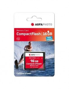 AGFAPHOTO Tarjeta Memoria Compact Flash 16Gb High Speed 300x