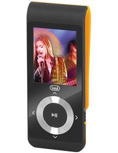 TREVI Reproducto MP4 Con Radio Fm 8Gb Con Clip Naranja