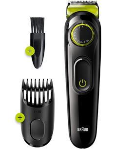 BRAUN Afeitadora de Barba BT3221 Recargable, Lavable