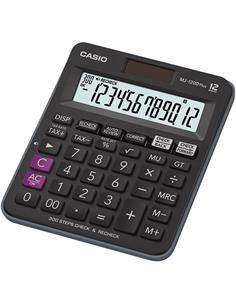 CASIO Calculadora 12 Digitos MJ-120D Plus Negro