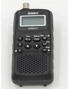 UNIDEN EZI33XLT Escaner Multi Banda Aerea Mini ,VHF,UHF,FM,PMR con 180 Canales Bateria NiMh