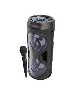 COOLSOUND Altavoz Tube Con Bluetooth, Radio FM,Aux In, Usb 10W CS0232 Negro