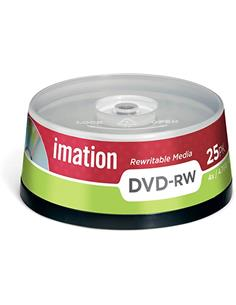IMATION Lata 25 Pcs DVD-RW 16x 4.7Gb