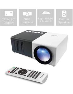 "PRIXTON Mini Proyector Led 900Lm, 24-60"",Hdmi, 1080P Full HD"