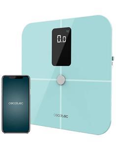 CECOTEC Bascula Corporal Baño Suface Precisio 10400 Smart Healthy Vision Azul