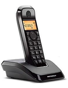 MOTOROLA Telefono Inalambrico S1201 Negro