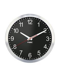 FYSIC Reloj de Pared Analogico FK105 Esfera Grande,Silencioso,Aluminio HOG057