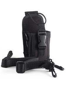 JETFON Funda Emisora FN07S Negra tamaño pequeño para walkies pmr.