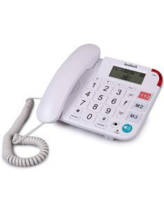KOOLTECH Telefono Sobremesa Con Teclas Grandes TE638 Blanco