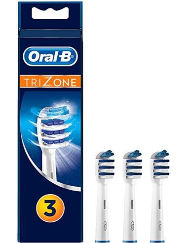 BRAUN ORAL-B Repuesto Cepillo Pack de 3 TRIZONE EB30-3