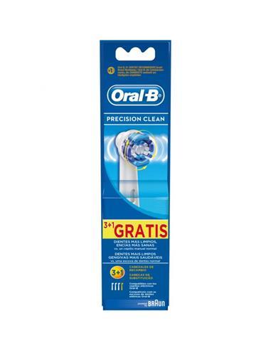 BRAUN ORAL-B Repuesto 3+1 Cepillos Precision Clean EB20-4