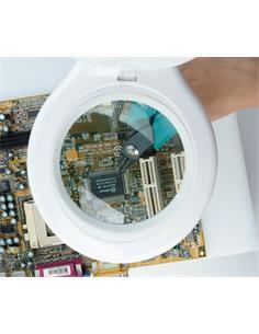 NIMO Lupa Articulada Con Luz 56 Leds HRV1209 220V