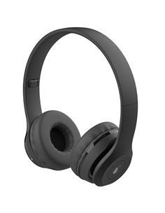 ONEPLUS Auricular Casco Bluetooth Con Radio FM, Aux Negro C6391