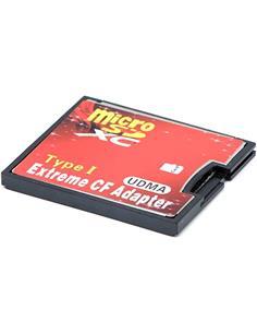 Adaptador Micro Sd HC a Compact Flash Tarjeta Extreme