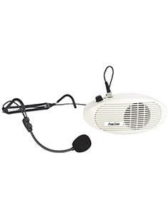 FONESTAR Megafono Personal  BATERIAS RECARGABLES GRATIS 6AA FAP-5