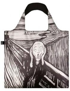 LOQI EM.SC Bolsa Plegable Edvard Munch El Grito 50x42Cms/ Hasta 20Kgs