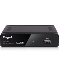 ENGEL Receptor Digital Terrestre TDT DVB-T2 Grabador Hdmi/Euroconector RT 5130 T2