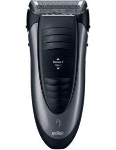 BRAUN Afeitadora de Barba Series 1 190s  Recargable  Y Con Cable Lavable