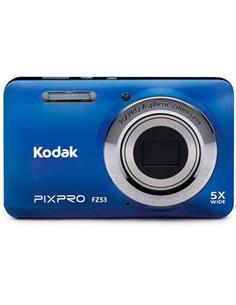 KODAK Camara de Fotos Digital PIXPRO FZ53 5X Azul 5X/28Mm Gran Angular/16Mp/Hd