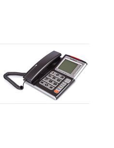 KOOLTECH Telefono Sobremesa TE631 Con Identificador de Llamadas Negro