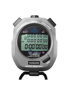 NAMASTE A-898 Cronometro Digital 100 Memorias Gris-Negro