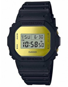 CASIO BRAND DW-5600BBMB-1ER Reloj G-Shock Digital Negro, Verde,Multi Alarma,Cronometro,Alerta Lumino