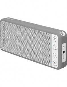 SANGEAN Altavoz Bluetooth BLUTAB BTS-101 Gris Nfc, Manos Libres, Aux In