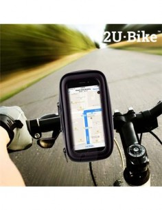 "2U-Bike Funda Con Soporte Movil 4.5"" Para Bicicletas 360º V0100199"