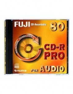 FUJIFILM CD Audio Pro 80 Minutos Individual