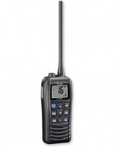 ICOM Emisora Portatil Banda Marina VHF IC-M37E 6W Resistente al Agua