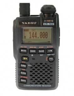 YAESU Escaner VR-160. AM/FM/WFM AF Dual 1256 Memoria