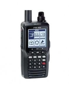 YAESU Emisora Portatil VHF Banda Aerea FTA-450L