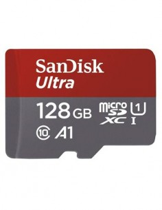 SANDISK Tarjeta Memoria Micro SDXC 128Gb A1 UHS-I 100Mb/667X Clase 10
