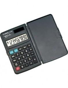CANON Calculadora LS-10E 10 digitos, Solar/Bateria, Euro Conversion