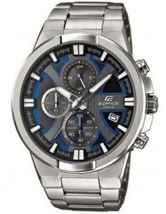 CASIO BRAND EFR-544D-1A2VUEF Reloj Edifice Analogico, Acero Inoxidable, Sfera 48mm, Fecha, Resistent