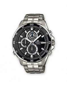 CASIO BRAND EFR-547D-1AVUEF Reloj Edifice Analogico, Acero Inoxidable, Sfera 47mm, Fecha, Resistente