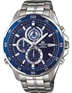CASIO BRAND EFR-547D-2AVUEF Reloj Edifice Analogico, Acero Inoxidable, Sfera 47mm, Fecha, Resistente
