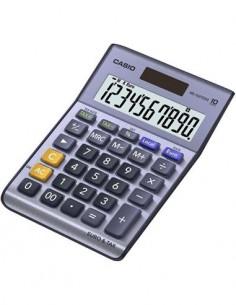 CASIO Calculadora Sobremesa MS-100TER II 10 Digitos Solar Y Pilas