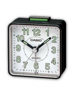 CASIO Reloj Despertador Mod TQ-140-1BEF Negro Beep
